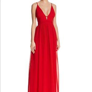 Aqua Dresses Bloomingdales Exclusive Red Gown